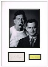 The Odd Couple Autograph Display - Randall & Klugman